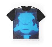 Duck Dodgers Blue Gamma Glow Graphic T-Shirt