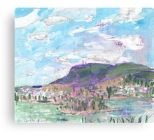 Mount Wellington, from MONA Canvas Print