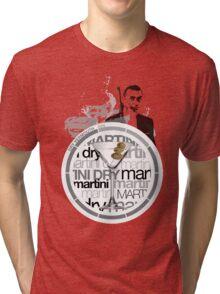 Martini Dry recipe Tri-blend T-Shirt