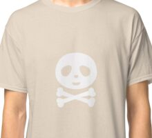 Kawaii Panda pirate skull Classic T-Shirt