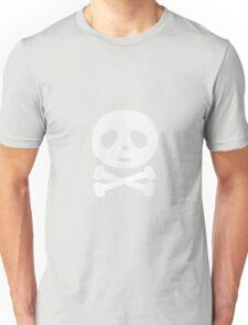 Kawaii Panda pirate skull Unisex T-Shirt