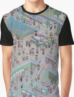 Pixel Mall 01 Graphic T-Shirt