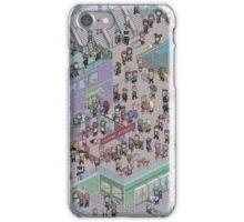 Pixel Mall 01 iPhone Case/Skin