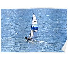 Sailing on Coffin Bay Poster