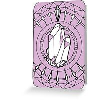 Crystal Power Greeting Card