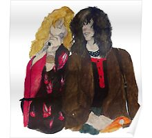 Robert Plant and Jimmy Page Poster