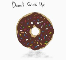 Donut Give Up Kids Tee