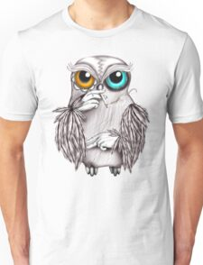 Smoking Owl Unisex T-Shirt