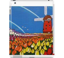 TulipTime,Netherlands. iPad Case/Skin
