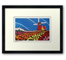 TulipTime,Netherlands. Framed Print