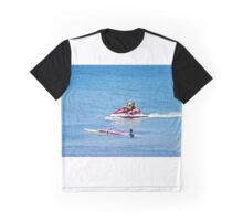 Jet Ski and wind surfer Graphic T-Shirt