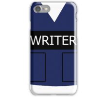 Writer's Vest iPhone Case/Skin