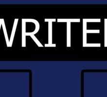 Writer's Vest Sticker
