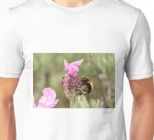 Bumble Bee in the garden Unisex T-Shirt