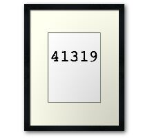 41319 - Det. Kate Beckett Framed Print