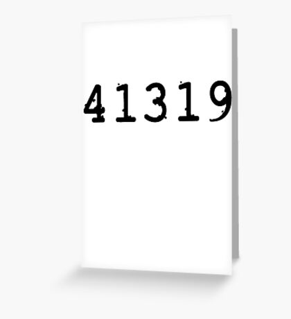 41319 - Det. Kate Beckett Greeting Card