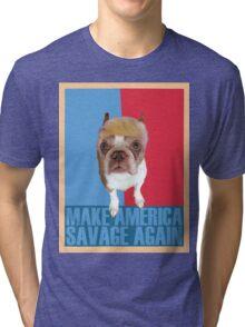 Trump Dog Tri-blend T-Shirt