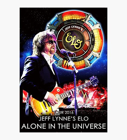 JEFF LYNNE'S ELO Photographic Print
