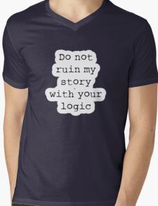 What Richard Castle Said Mens V-Neck T-Shirt