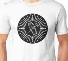SQUARE HAMMER COFFIN - super sloppy white/black background Unisex T-Shirt