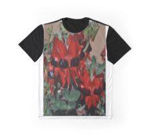 Sturt Desert Pea Graphic T-Shirt