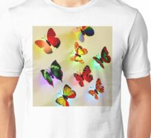 butterfly color Unisex T-Shirt