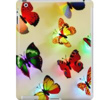butterfly color iPad Case/Skin