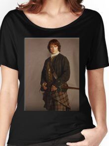 Jamie Fraser Outlander warriors Women's Relaxed Fit T-Shirt