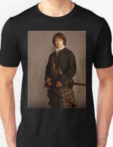 Jamie Fraser Outlander warriors Unisex T-Shirt