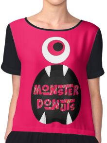 MoNsTeR DoNuTs CoLoR Chiffon Top