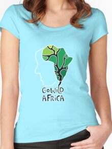 Go wild Africa Women's Fitted Scoop T-Shirt