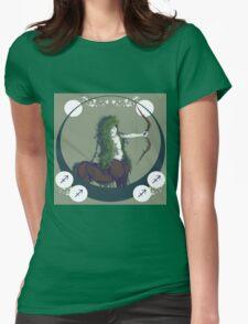 Sagittarius Womens Fitted T-Shirt
