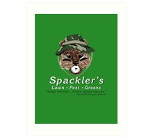 Spackler's Lawn Pest and Greens Art Print
