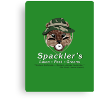 Spackler's Lawn Pest and Greens Canvas Print