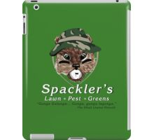Spackler's Lawn Pest and Greens iPad Case/Skin