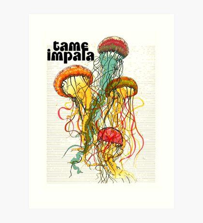 tame impala Art Print