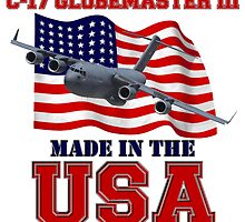 C-17 Globemaster III Made in the USA by Mil Merchant