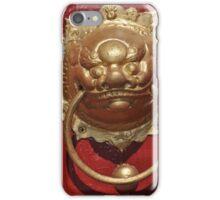Lion Door Knocker, Northbridge iPhone Case/Skin