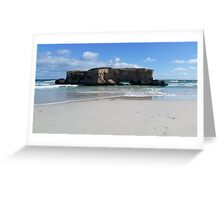 Two Rocks Greeting Card