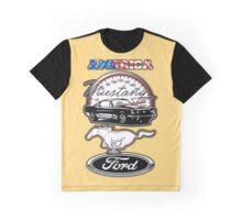 America Ford Mustang Graphic T-Shirt