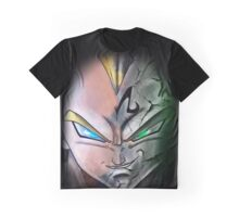 Super Saiyan Vegeta Haft Face Shirt Graphic T-Shirt