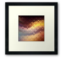 Abstract pattern. Framed Print