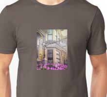 SF Victorian Detail with Flower Unisex T-Shirt