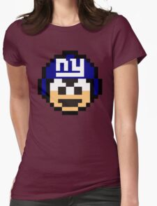 NY GIANTS Womens Fitted T-Shirt