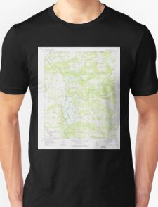 USGS TOPO Map Arkansas AR Knoxville 258874 1962 24000 Unisex T-Shirt
