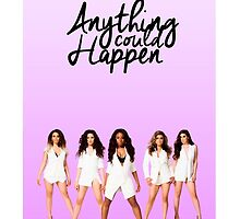 """""""Anything could happen"""" Fifth Harmony purple gradient by NicolesArt"""