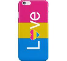 L♥ve (Pan Pride) iPhone Case/Skin