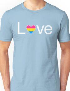 L♥ve (Pan Pride) Unisex T-Shirt