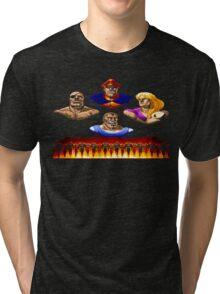 Street Fighter 2 End Scene Tri-blend T-Shirt