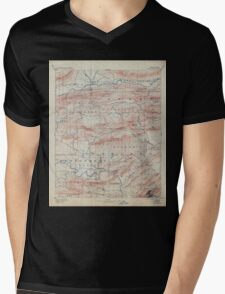 USGS TOPO Map Arkansas AR Hot Springs 260501 1894 125000 Mens V-Neck T-Shirt